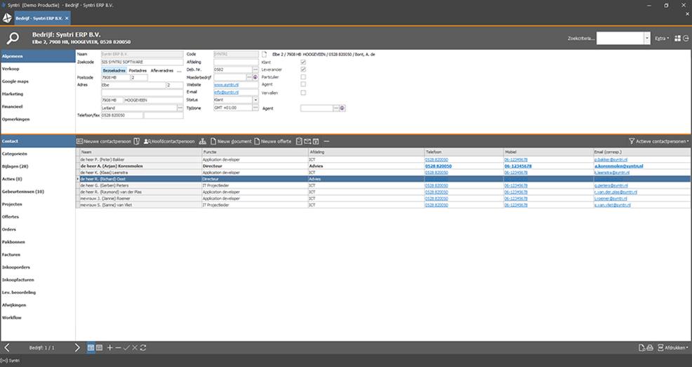 Op het startscherm staan straks alle belangrijke metrics, grafieken en KPI's